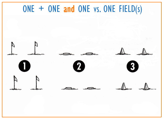 One+One Fields of Play diagram